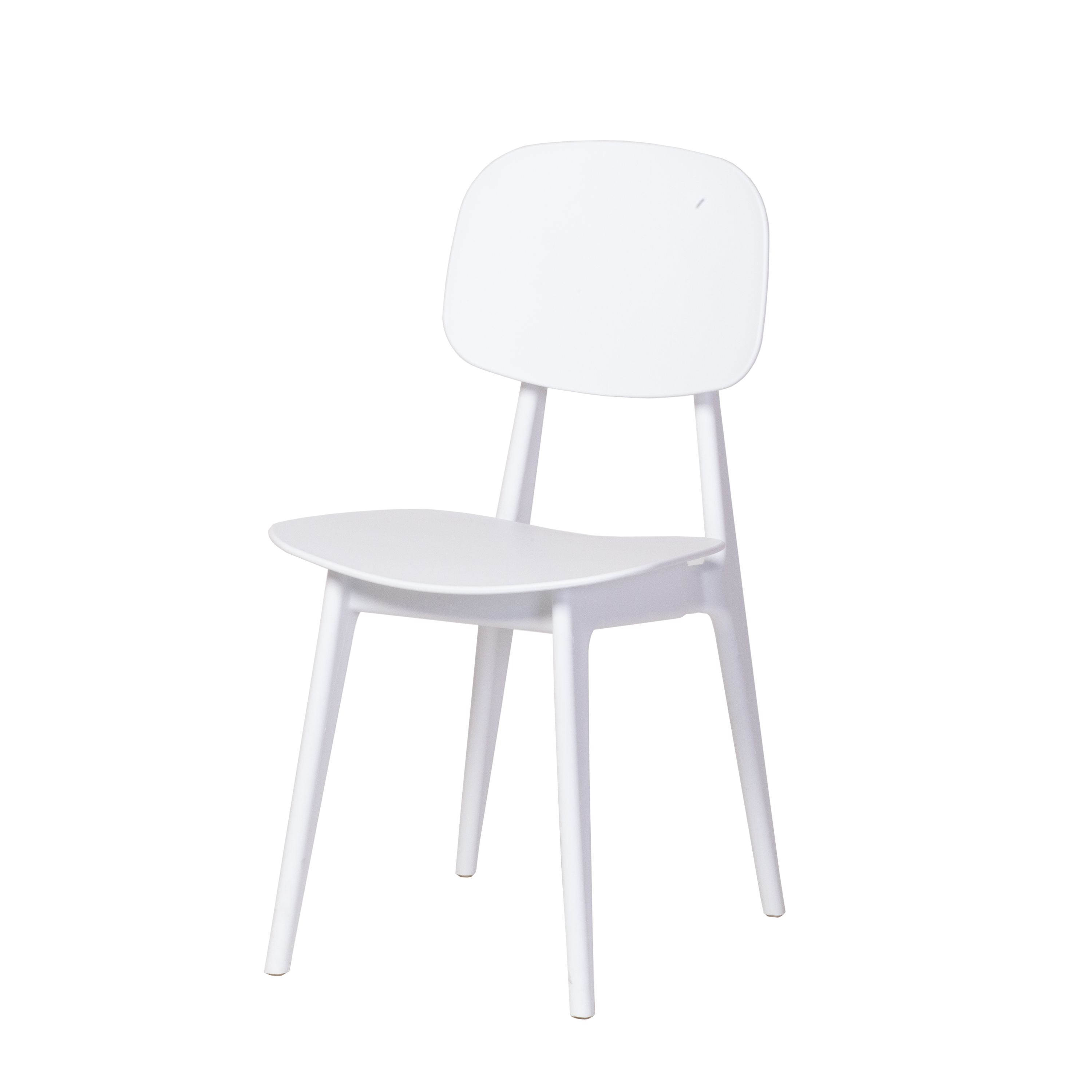 Cherry Dining Chair - White